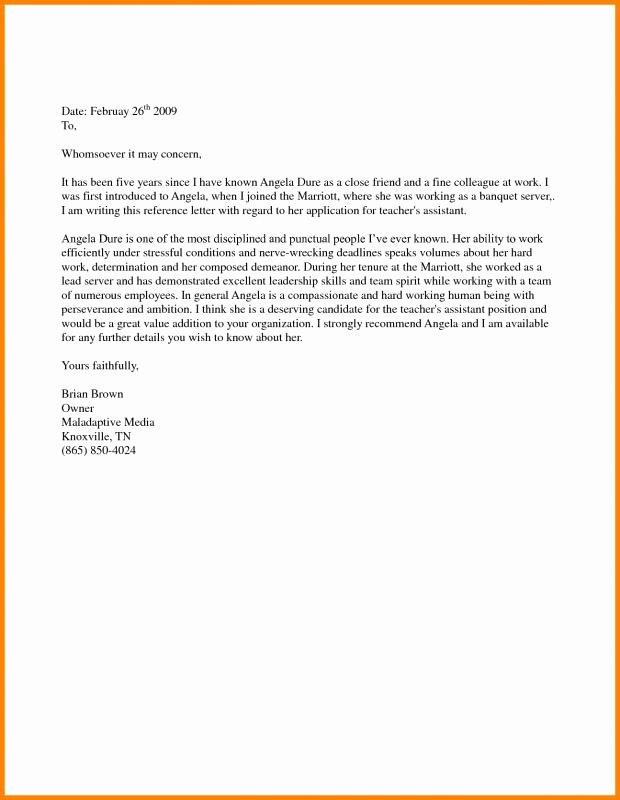 Letter Of Support for Immigration Luxury Support Letter Sample for Immigration