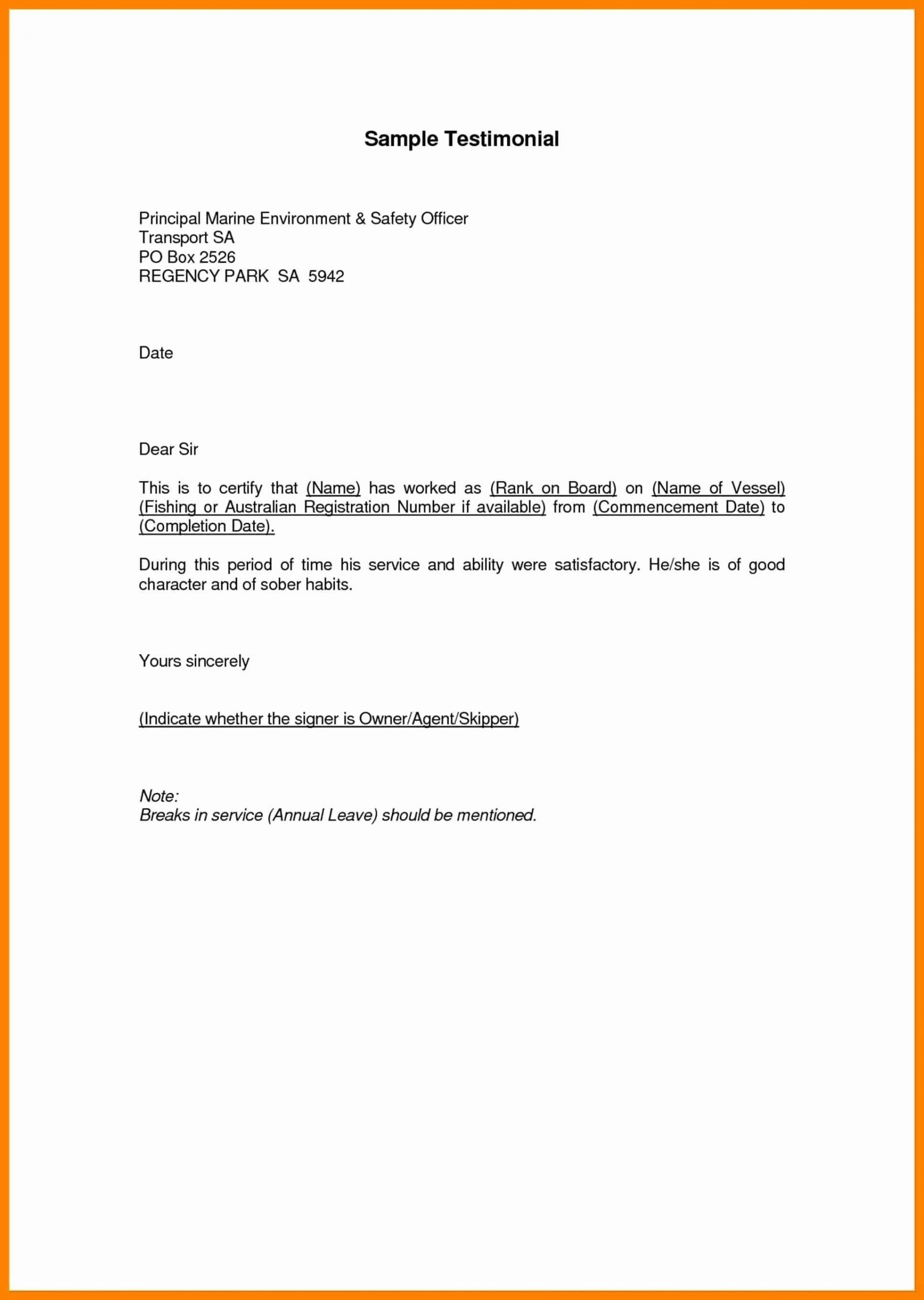 Letter Of Testimony Example Best Of How to Write A Personal Testimonial About Yourself with