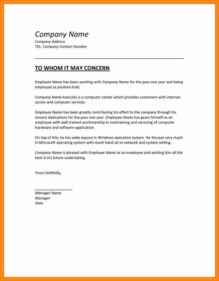 Letter Of Testimony Sample Elegant Employment Certificate Sample for Accountant Fresh 15