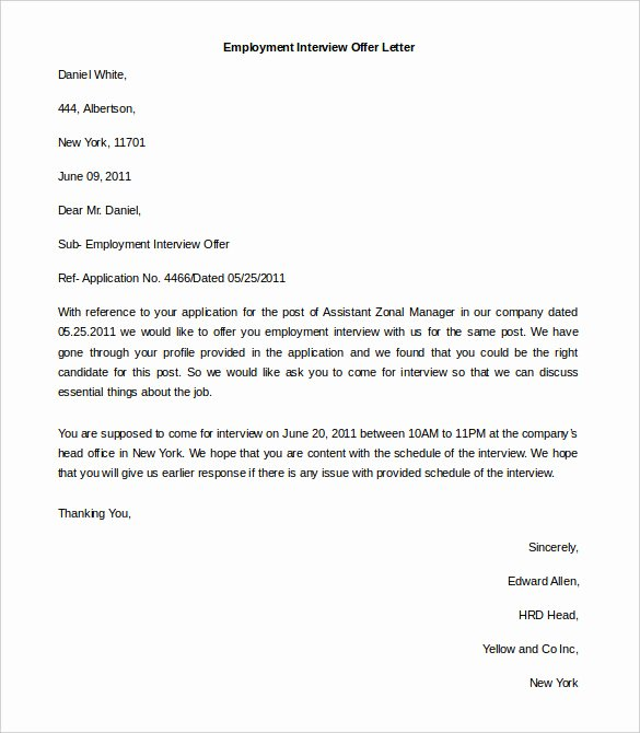 Letter Of Unemployment Template Lovely 11 Free Employment Letter Template Doc Pdf