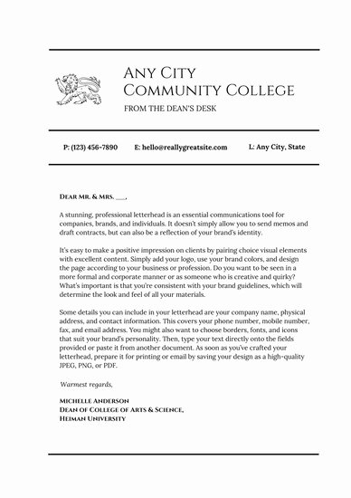 Letter to the Editor Template for Students New Customize 1 064 Letter Templates Online Canva