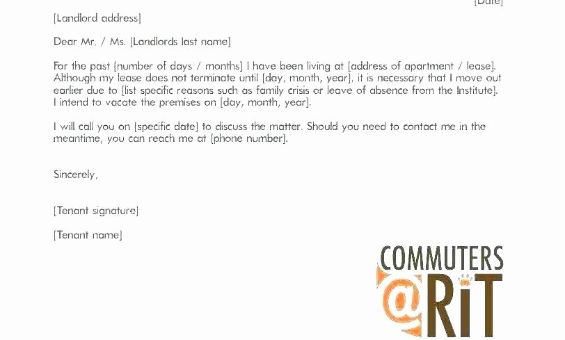Letters Of Moving Out Notice Awesome Landlord Notice to Vacate Premises – Gaboweis