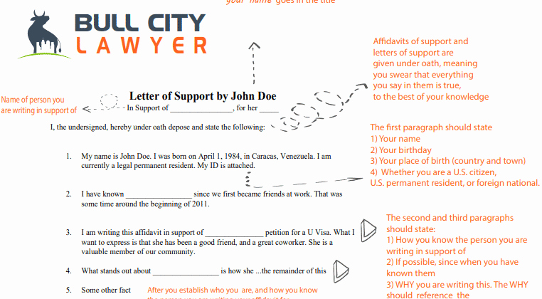 Letters Of Support for Immigration Fresh Uscis Letters Of Support Guide for Immigration Bull City