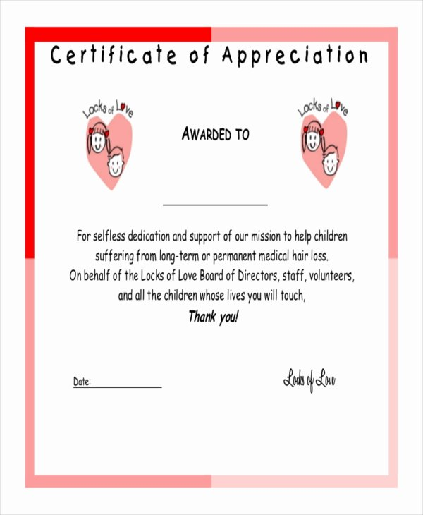 Life Saving Award Template Unique Certificate Of Appreciation Template 38 Free Word Pdf