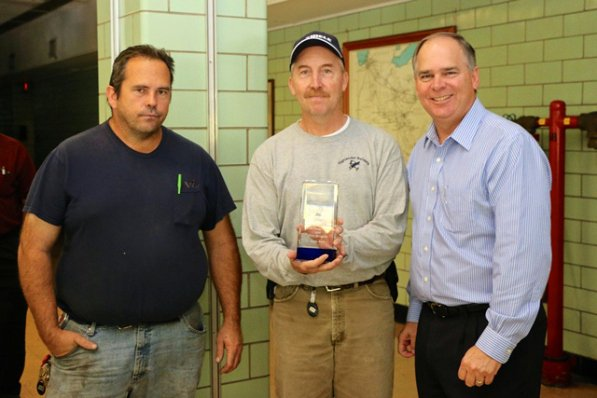 Life Saving Award Wording Awesome Akins Presents Clinch River Employees with Chairman's Life