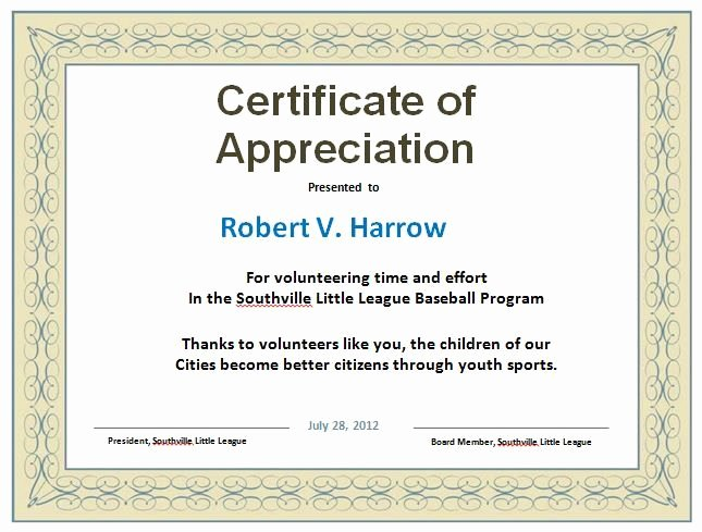 Life Saving Award Wording Best Of 30 Free Certificate Of Appreciation Templates and Letters