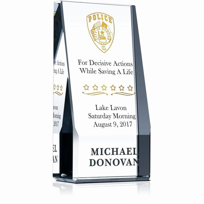 Life Saving Award Wording Inspirational Citizen Life Saving Service Award Wording Sample by