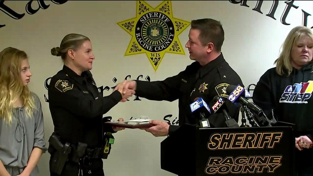 Life Saving Award Wording Luxury Racine Co Sheriff Honors Deputy Citizen for Life Saving