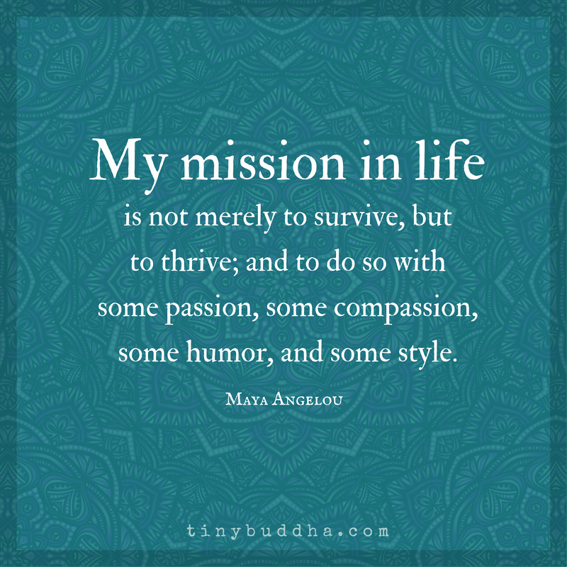 Life Time Mission Statement Elegant Fun & Inspiring Archives Tiny Buddha