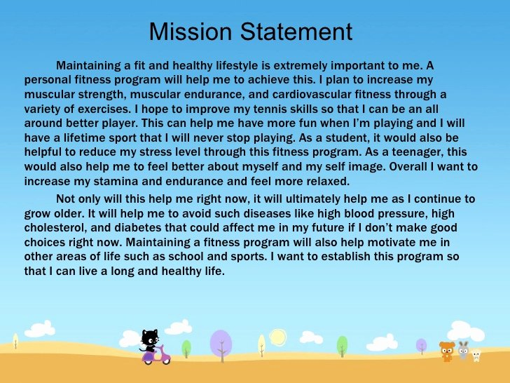 Lifetime athletic Mission Statement Inspirational Fitness Program