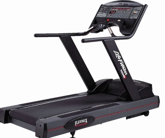 Lifetime Fitness Mission Elegant Life Fitness Integrity Series D Treadmill Gym Equipment