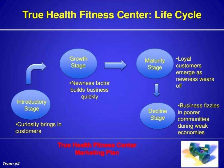 Lifetime Fitness Mission Inspirational True Health Fitness Power Point Presentation