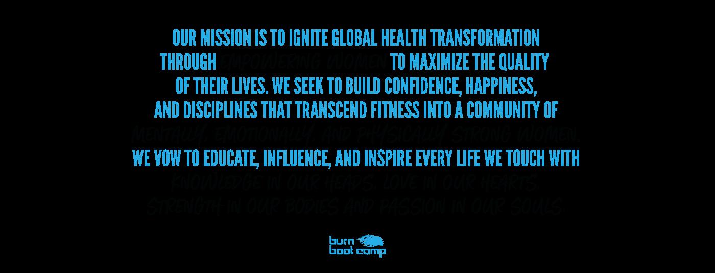 Lifetime Fitness Mission Statement Beautiful Mission Statement Burn Boot Camp