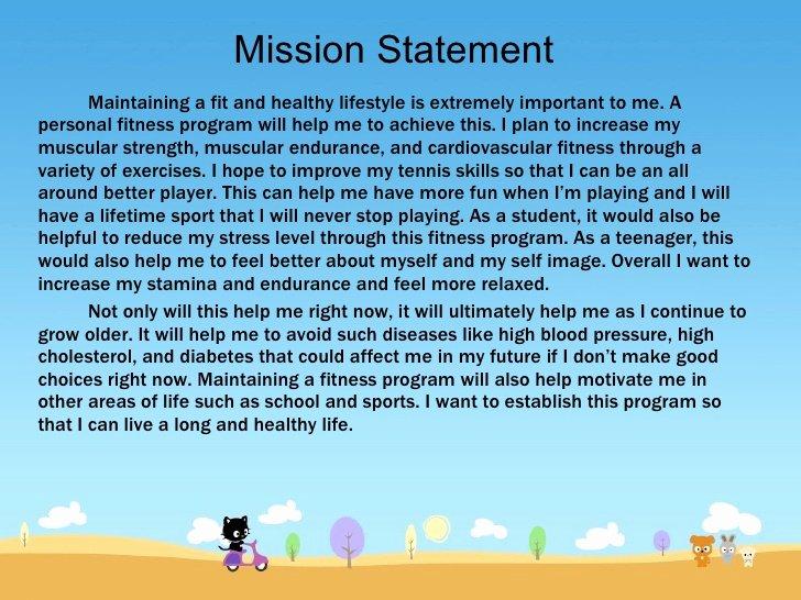 Lifetime Fitness Mission Statement Lovely Fitness Program