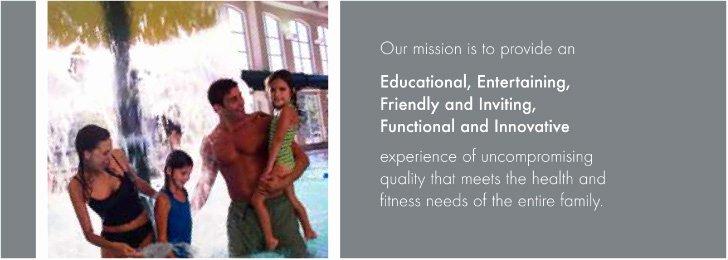 Lifetime Fitness Vision Statement Elegant Mission Graphic