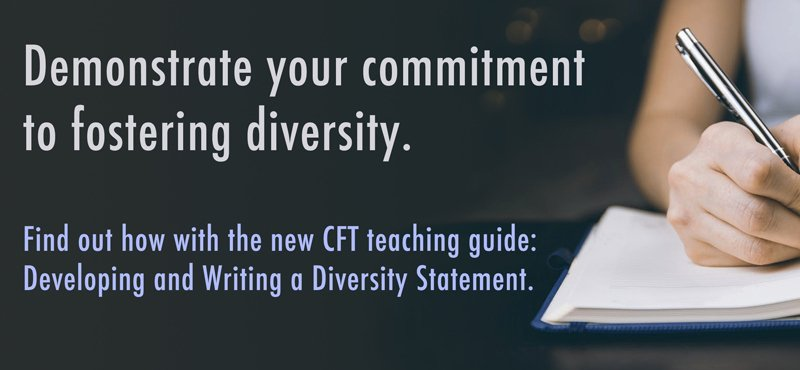 developing and writing a diversity statement