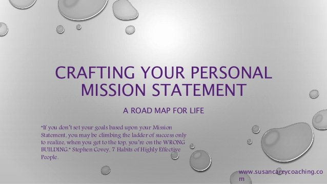 Lifetime Mission Statement Awesome Personal Mission Statement