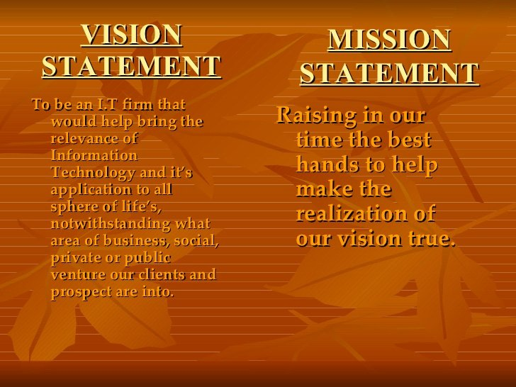 Lifetime Mission Statement Beautiful Wel E to the World Of Information Technology