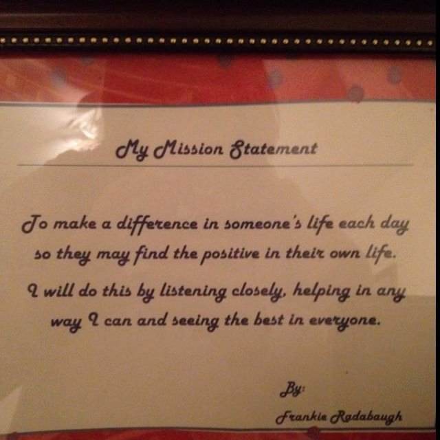 Lifetime Mission Statement Fresh My Personal Mission Statement Quotes Pinterest