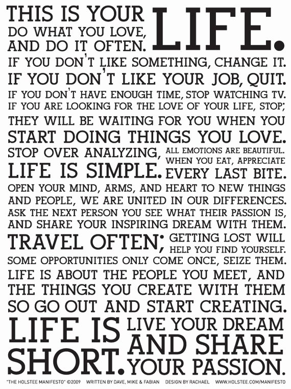 a mission statement for life a lesson for all educators