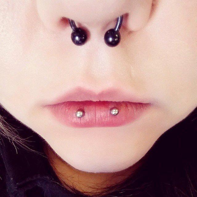 Lip Piercing Pain Chart Inspirational Horizontal Lip Piercing [30 Ideas] Pain Level Healing