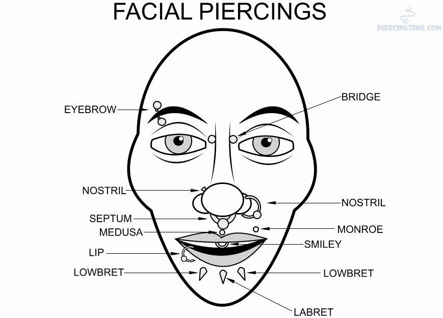 Lip Piercing Pain Chart Unique 15 Piercing Pain Chart