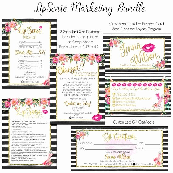 Lipsense Gift Certificate Template Lovely 20 Best Lipsense by Senegence Images On Pinterest