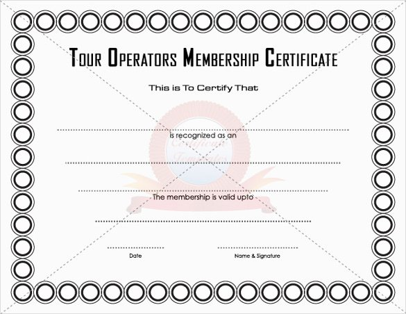 Llc Member Certificate Template Lovely 23 Membership Certificate Templates Word Psd In