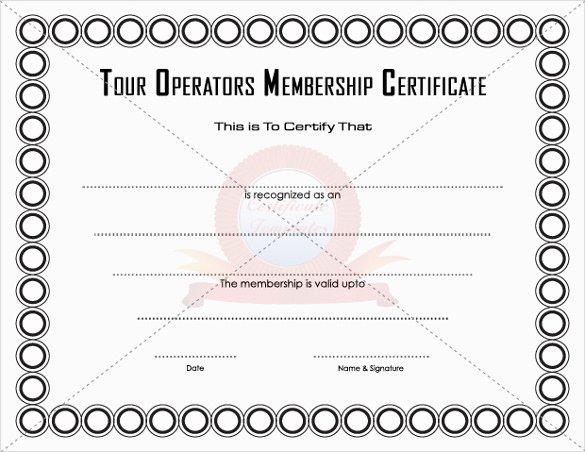 Llc Membership Certificate Template Awesome 23 Membership Certificate Templates Word Psd In