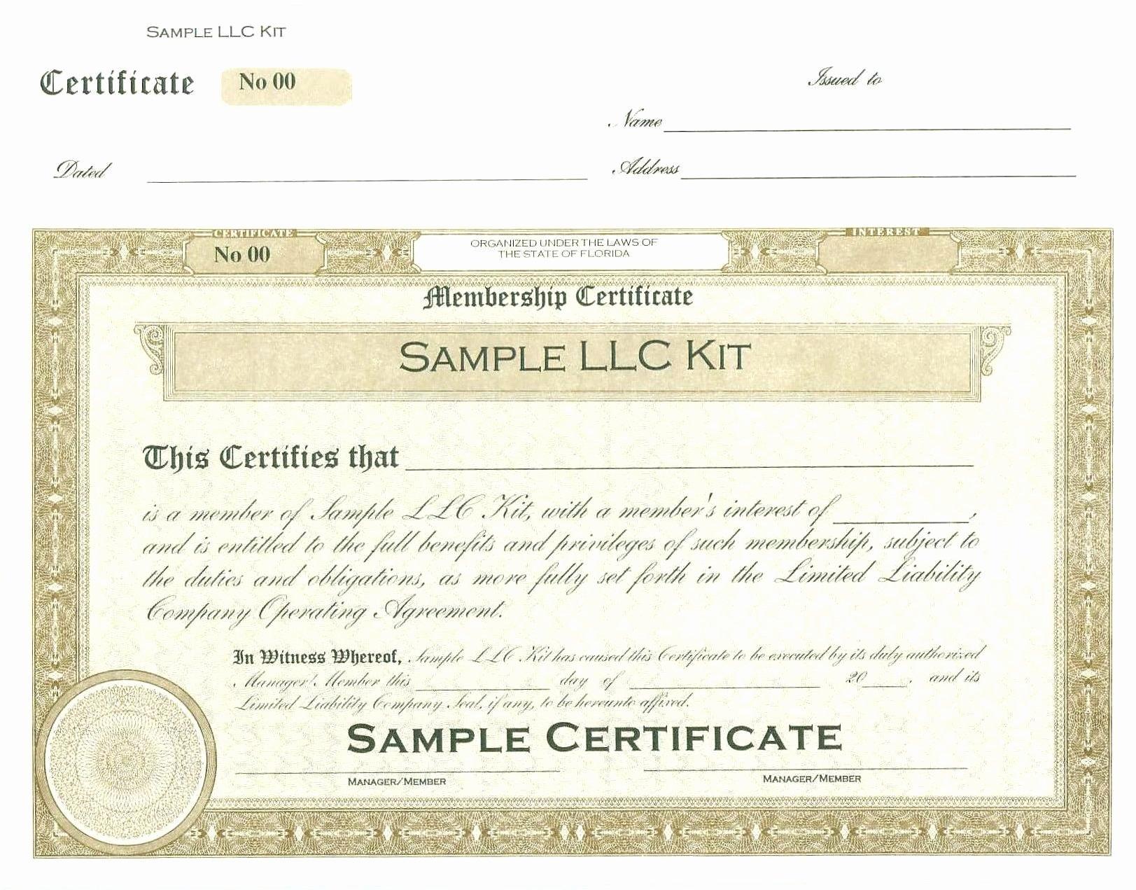 Llc Membership Certificate Template Beautiful Index Of Cdn 26 2004 663