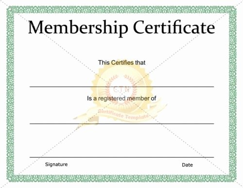 Llc Membership Certificate Template Free Awesome 11 Best Images About Kids Certificate Templates On