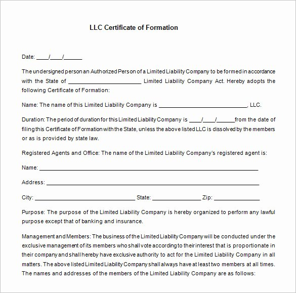 Llc Membership Certificate Template Free Best Of 23 Membership Certificate Templates Word Psd In