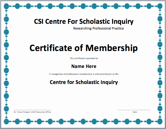 Llc Membership Certificate Template Word Lovely Membership Certificate Template Free Template Downloads