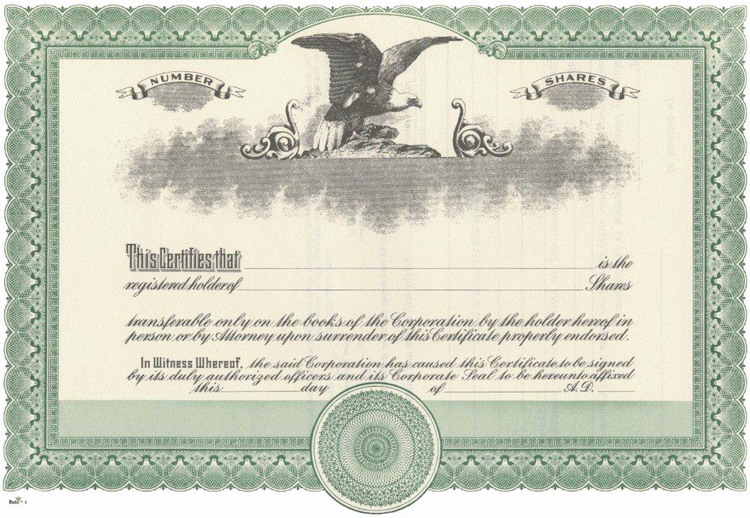 Llc Share Certificate Template Inspirational Duke 2 Stock Certificates