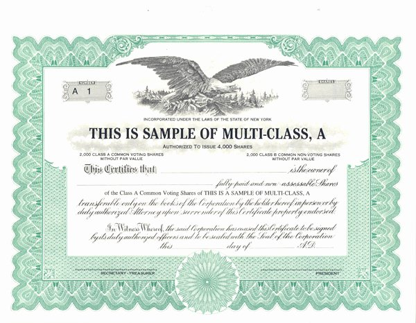Llc Share Certificate Template New Free Stock Certificate Template Free Printable Documents