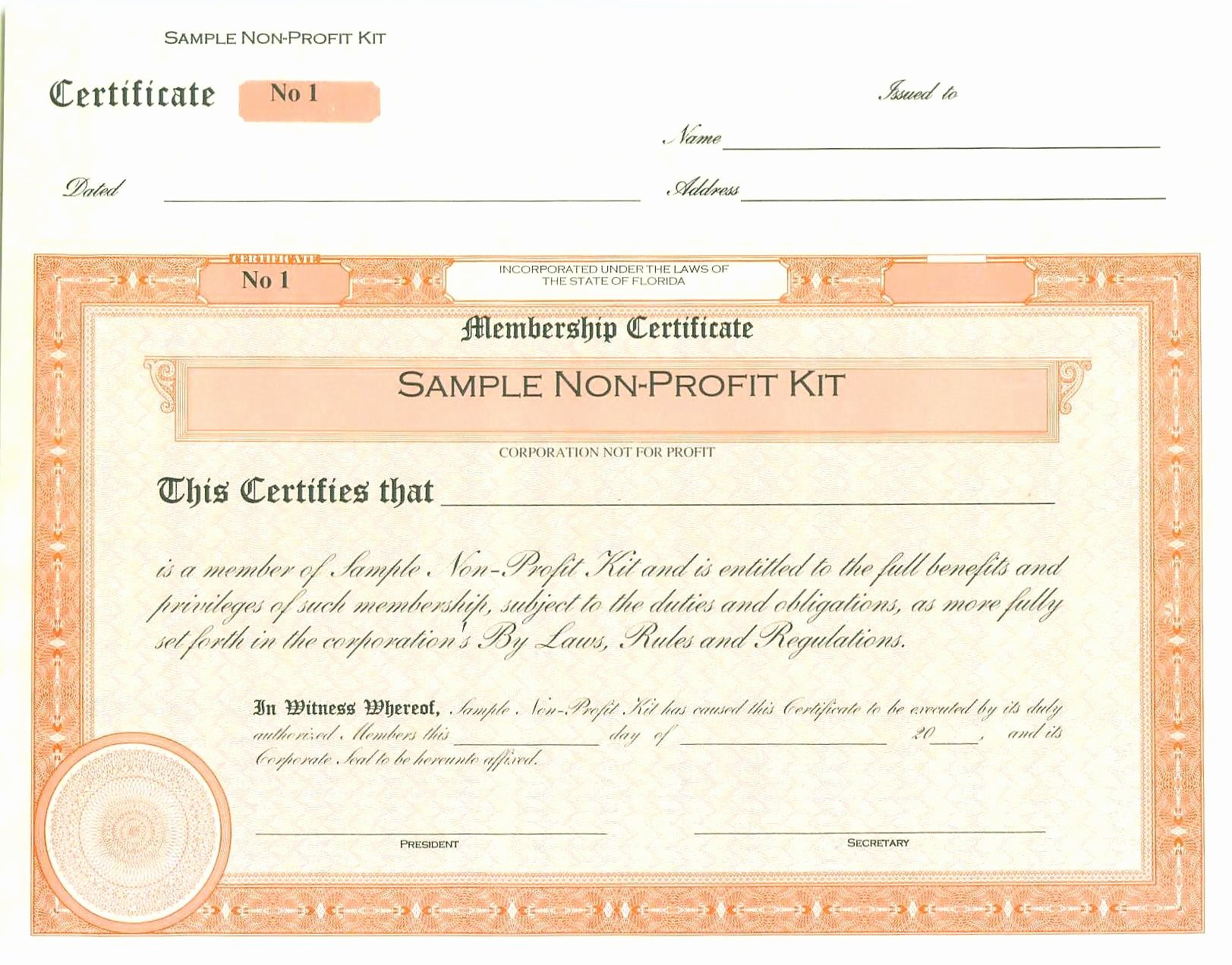 Llc Stock Certificate Template Inspirational Your Capital Connection Inc