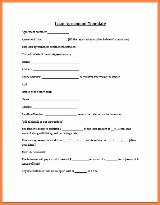 Loan Agreement Between Friends Template Inspirational 4 Sample Personal Loan Agreement Between Friends