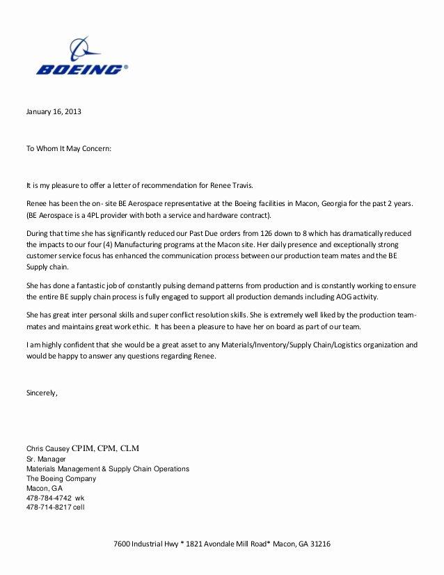 Lockheed Martin Address for Cover Letter Elegant Boeing Letter Of Rec Mendation