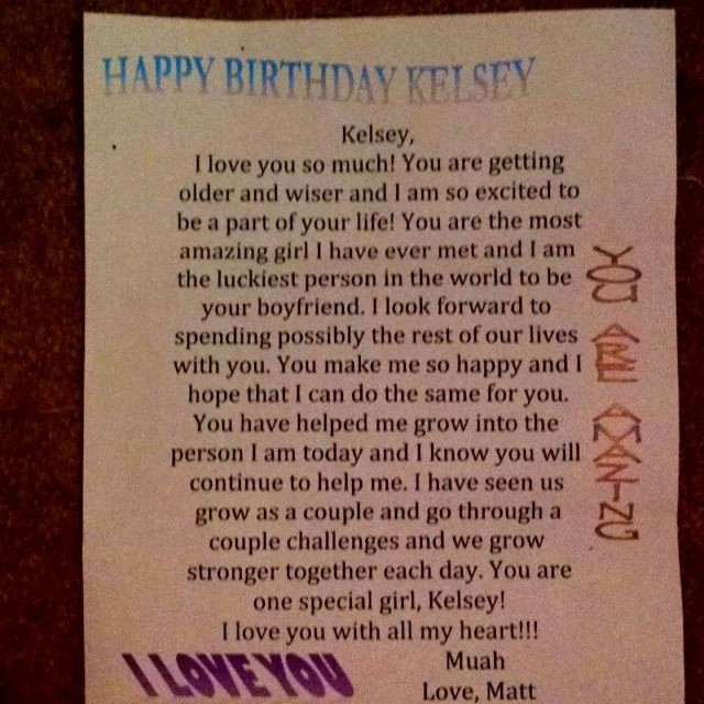 Love Letter to My Husband On His Birthday Inspirational I Love Letters when I Receive Letters that Have Most Of