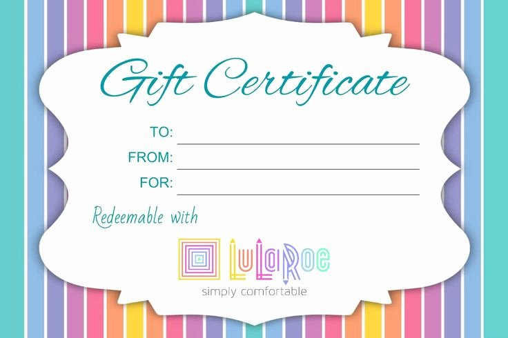 Lularoe Gift Certificate Template Beautiful 161 Best Images About Lularoe On Pinterest