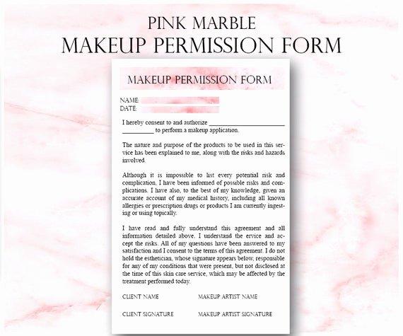 Makeup Artist Contract Pdf Inspirational Pink Makeup Artist Business Planner Bundle Freelance