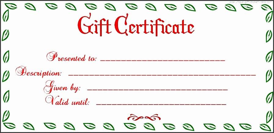 Mani Pedi Gift Certificate Template Luxury 8 Free Blank Gift Certificate Sampletemplatess