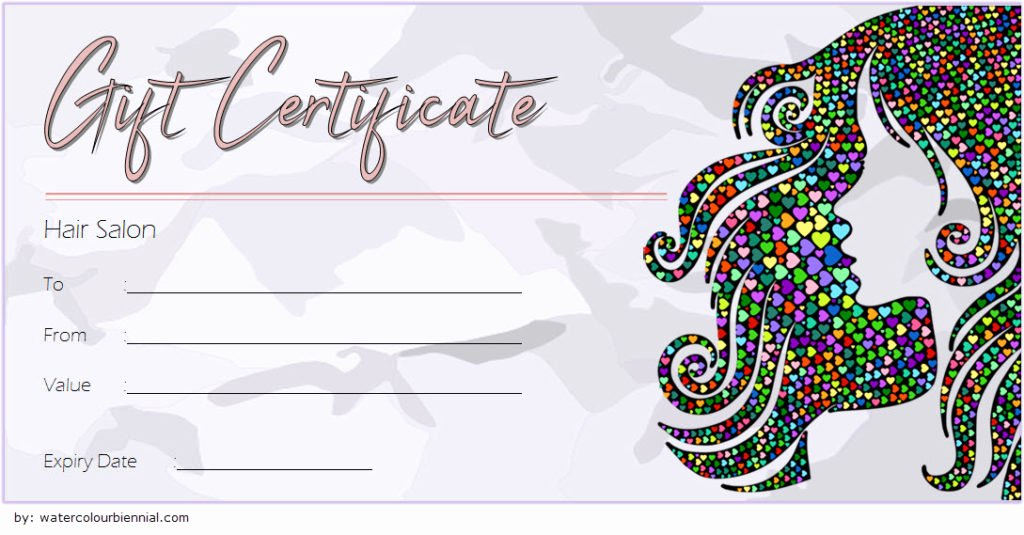 Manicure Gift Certificate Template Inspirational Hair Salon Gift Certificate Templates [8 Beautiful