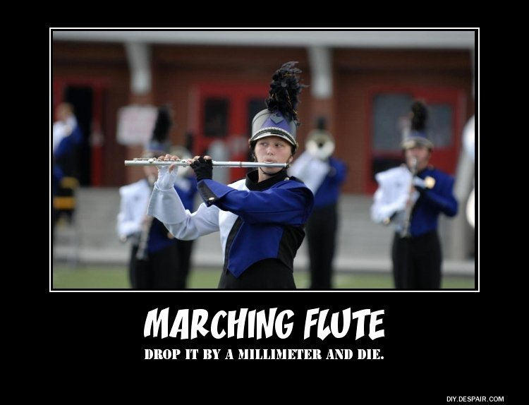 Marching Band Funny Pictures Awesome Marching Flute Quotes Funny Quotesgram
