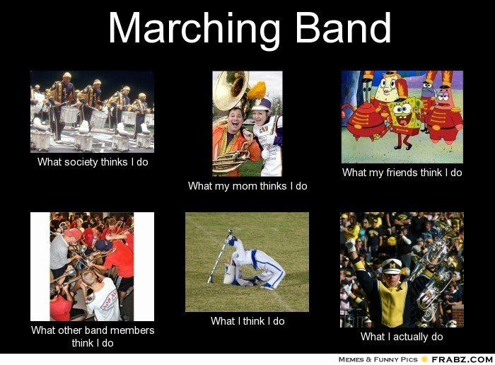 Marching Band Funny Pictures New Marching Band Jokes and Quotes Quotesgram