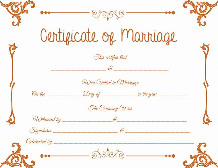 Marriage Certificate Template Microsoft Word Awesome Floral Corner Marriage Certificate Template Dotxes