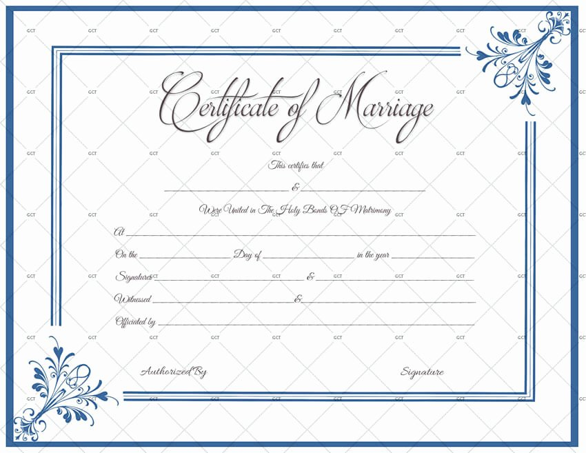 Marriage Certificate Template Microsoft Word Fresh Marriage Certificate License Templates Microsoft Fice