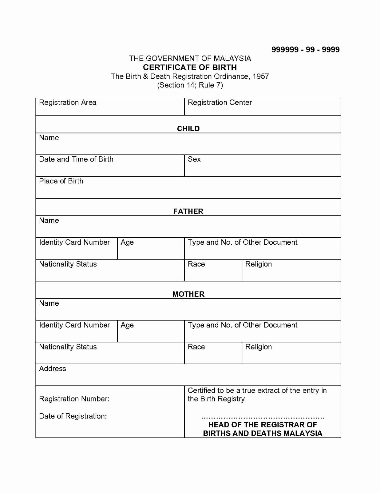 Marriage Certificate Translation Template Spanish to English Awesome 30 Ideal Birth Certificate Translation Template Ue