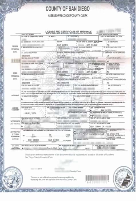 Marriage Certificate Translation Template Spanish to English Elegant Wedding Certificate Translated Into English