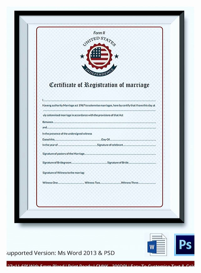 Marriage Counseling Certificate Template Fresh Designing Using Marriage Certificate Template for Your Own